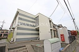 埼玉県吉川市きよみ野2丁目の賃貸アパートの外観