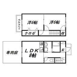[一戸建] 静岡県浜松市東区将監町 の賃貸【/】の間取り
