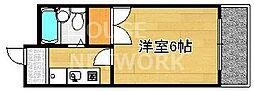 グレース紫竹[301号室号室]の間取り