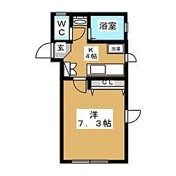 YELL[1階]の間取り