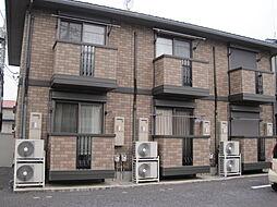 栃木県小山市西城南4の賃貸アパートの外観