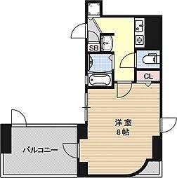 サムティ京都駅前[1103号室号室]の間取り