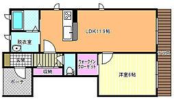 Deux maisons 照ヶ丘(ドゥーメゾン)[1階]の間取り