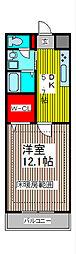 SUNRIZE・大褄[1階]の間取り