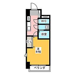 コモレビスクエア大須[5階]の間取り
