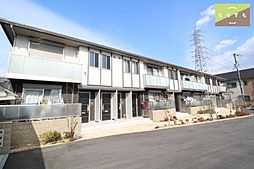 奈良県葛城市北花内の賃貸アパートの外観