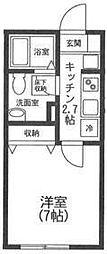 グリーンパーク・新横浜[102号室号室]の間取り