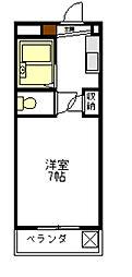 マンション光[2階]の間取り