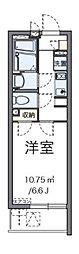 小田急江ノ島線 大和駅 徒歩5分の賃貸マンション 1階1Kの間取り