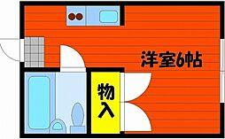 シスター中井[3階]の間取り