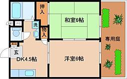 兵庫県神戸市長田区久保町7丁目の賃貸アパートの間取り