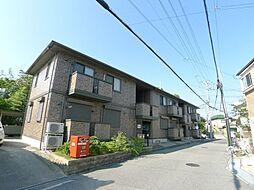 兵庫県神戸市垂水区中道6丁目の賃貸アパートの外観