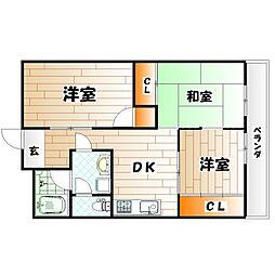 SK−BLD[4階]の間取り