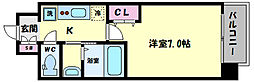 TOYOTOMI STAY PREMIUM ABENO天王寺(トヨトミステイプレミアムア 12階1Kの間取り