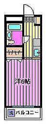 リバティハウス[3階]の間取り