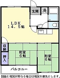 Nasu7[302号室]の間取り