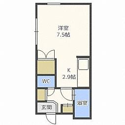 プラザイン912[2階]の間取り