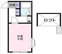 オッコララNO4[1階]の間取り