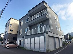 北海道札幌市手稲区西宮の沢二条4の賃貸アパートの外観