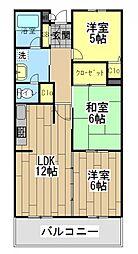 ファミーユ高座渋谷[4階]の間取り