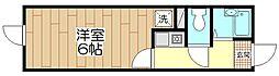 オペラシオンボヌール竹の塚[102号室]の間取り