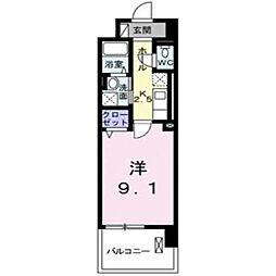 グランデ新宿[503号室]の間取り