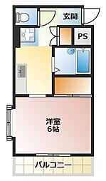 トラッドハウス[1階]の間取り