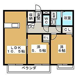 南松本駅 8.4万円