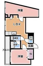 大和田コーポ[3階]の間取り