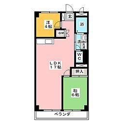第一河村ビル[2階]の間取り