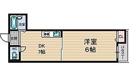 エクト1[2階]の間取り