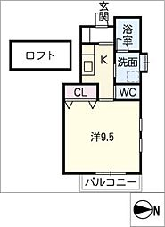 エクセルコートⅠ[1階]の間取り