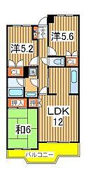 第2グランドフォート[4階]の間取り
