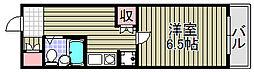ヴィステリアハウス[1階]の間取り