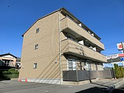 愛知県清須市新清洲6丁目の賃貸アパートの外観