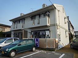 岡山県倉敷市亀山の賃貸アパートの外観