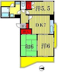M・Hビル[2階]の間取り