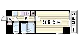 テレ・アビーテ神戸[5階]の間取り