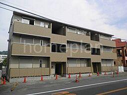 大阪府大東市平野屋1丁目の賃貸アパートの外観