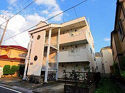 埼玉県狭山市入間川3丁目の賃貸マンションの外観