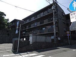 静岡県三島市徳倉の賃貸マンションの外観