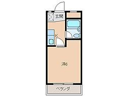 貴志コーポ[3階]の間取り