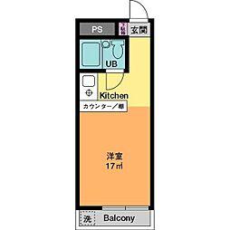 ドエル平井C棟[2階]の間取り