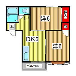 Ami[1階]の間取り
