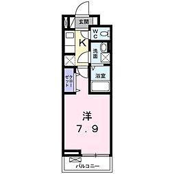 愛知県名古屋市緑区大高町字東正地の賃貸アパートの間取り