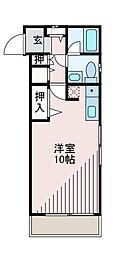 コートサヌール[3階]の間取り