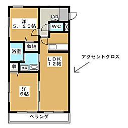 優駿スクエア[3階]の間取り