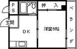 ホッとライフ21[403号室]の間取り