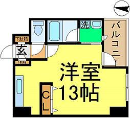 トップストーン[3階]の間取り