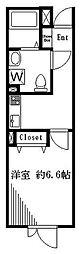 仮称)アールデコ初台マンション 地下1階1Kの間取り